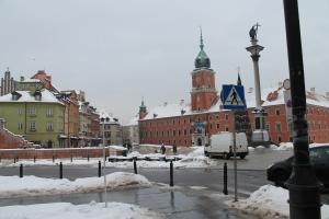 Warszawa Castle Sq. Sigismund Column 2013.
