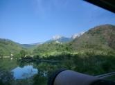 Op de terugweg in de bus naar Mostar