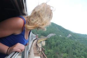 Girlfriend enjoying the view