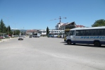 Straatbeeld in Niksic