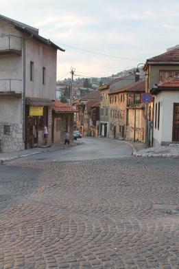 Ook rond het hostel: nauwe straten