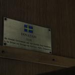 Duidelijk: na 1999 gedoneerd door Zweden, nog altijd in gebruik.