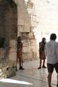 Romeinse soldaten moeten verwijzen naar de Romeinse handelsstad die Split ooit was.